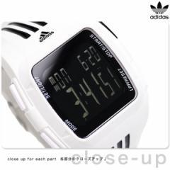 アディダス パフォーマンス デュラモ メンズ 腕時計 ADP6091 adidas ブラック×ホワイト