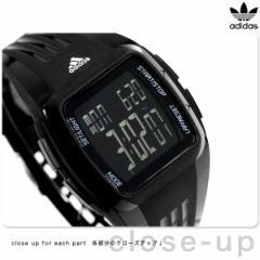 アディダス パフォーマンス デュラモ ミッド 腕時計 ADP6094 adidas オールブラック【あす着】