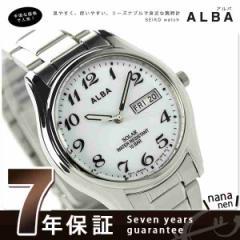 【4月下旬頃入荷予定 予約受付中♪】セイコー アルバ ソーラー メンズ 腕時計 AEFD539 SEIKO ALBA デイデイト ホワイト