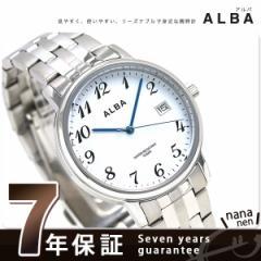 セイコー アルバ ブレスレット クオーツ メンズ 腕時計 AQGK443 SEIKO ホワイト