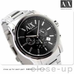 【あす着】アルマーニ エクスチェンジ メンズ 腕時計 クロノグラフ ブラック AX ARMANI EXCHANGE AX2084