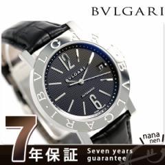 ブルガリ BVLGARI ブルガリブルガリ 38mm 自動巻き メンズ BB38BSLDAUTO 腕時計 ブラック