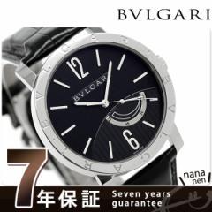 ブルガリ BVLGARI ブルガリブルガリ 41mm 自動巻き メンズ BB41BSL 腕時計 ブラック