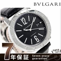 ブルガリ BVLGARI ブルガリブルガリ 42mm BB42BSLDAUTO 腕時計 ブラック