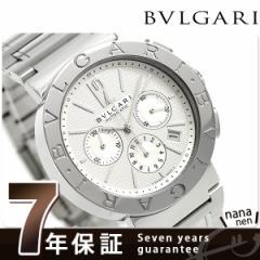 ブルガリ BVLGARI ブルガリブルガリ 42mm クロノグラフ BB42WSSDCH 腕時計 シルバー