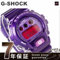 【あす着】CASIO G-SHOCK G-ショック クレイジーカラーズ パープル DW-6900CC-6DR