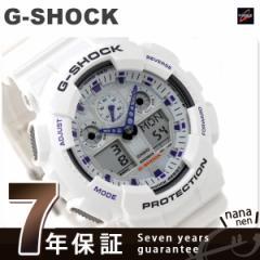 【あす着】CASIO G-SHOCK G-ショック Newコンビネーションモデル ホワイト×ミラー GA-100A-7ADR