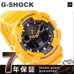 【あす着】CASIO G-SHOCK G-ショック Newコンビネーションモデル イエロー×ブラック GA-100A-9ADR