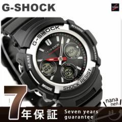 【あす着】CASIO G-SHOCK G-ショック 電波 ソーラー スタンダードモデル アナデジ ブラック AWG-M100-1AER