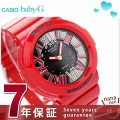【あす着】ベビーG カシオ 腕時計 ネオンダイアルシリーズ アナデジ ブラック×レッド Baby-G CASIO BGA-160-4BDR