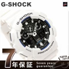 【あす着】CASIO G-SHOCK G-ショック コンビネーションモデル ブラック×ホワイト GA-100B-7ADR