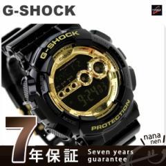 【あす着】ジーショック G-SHOCK Gショック Black×Gold Series ブラック×ゴールド GD-100GB-1DR