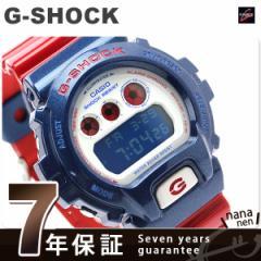【あす着】Gショック カシオ 腕時計 メンズ ブルー&レッドシリーズ CASIO G-SHOCK DW-6900AC-2DR
