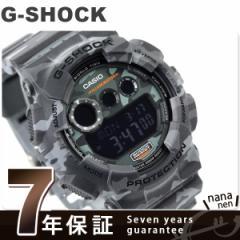 G-SHOCK カモフラージュシリーズ 限定モデル メンズ GD-120CM-8DR カシオ Gショック 腕時計 クオーツ ブラック×グレー