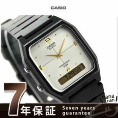 カシオ チプカシ クラシック 海外モデル クオーツ 腕時計 AW-48HE-7AVDF CASIO シルバー×ブラック