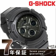 【あす着】G-SHOCK ベーシック クオーツ メンズ 腕時計 AW-591BB-1ADR Gショック オールブラック