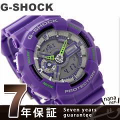 G-SHOCK ダスティ・ネオン・シリーズ クオーツ メンズ GA-110DN-6ADR カシオ Gショック 腕時計 パープル