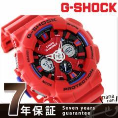 【あす着】G-SHOCK クオーツ メンズ 腕時計 GA-120TR-4ADR カシオ Gショック レッド