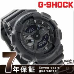G-SHOCK クオーツ メンズ 腕時計 GMA-S110CM-8ADR カシオ Gショック オールブラック