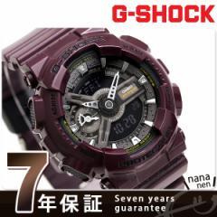 【あす着】G-SHOCK Sシリーズ クオーツ メンズ 腕時計 GMA-S110MC-6ADR カシオ Gショック ブラック×パープル