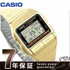 カシオ データバンク メンズ 腕時計 DB-380G-1DF CASIO イエロー×ゴールド