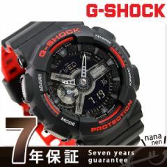 【あす着】G-SHOCK スペシャルカラー メンズ 腕時計 GA-110HR-1ADR カシオ Gショック ブラック×レッド