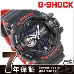 【あす着】G-SHOCK ブラック&レッド クオーツ メンズ 腕時計 GA-400HR-1ADR カシオ Gショック