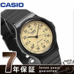 カシオ チプカシ クラシック ラウンド 海外モデル 腕時計 MQ-24-9BDF CASIO ベージュ