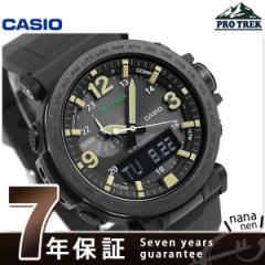 【あす着】カシオ プロトレック PRG-600 ソーラー メンズ 腕時計 PRG-600Y-1DR CASIO PRO TREK オールブラック