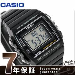 【あす着】カシオ チプカシ スタンダード ストップウォッチ 腕時計 W-215H-1AVDF CASIO ブラック