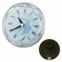 クロック ディズニー シンデレラ 置き時計 4SE546MC04 Disney