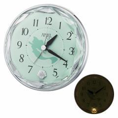 クロック ディズニー リトルマーメイド アリエル 置き時計 4SE546ML05 Disney