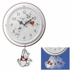 クロック ディズニー くまのプーさん 掛け時計 8MX407MC03 Disney