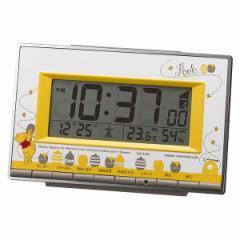 クロック ディズニー くまのプーさん 置き時計 8RZ133MC08 Disney