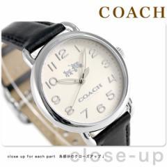 【あす着】コーチ デランシー 36mm クオーツ メンズ 腕時計 14502437 COACH アイボリー×ブラック