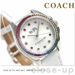 コーチ トリステン クオーツ レディース 腕時計 14502505 シルバー×ホワイト