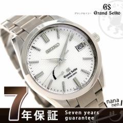 グランドセイコー 9Rスプリングドライブ 40.5mm メンズ SBGA147 GRAND SEIKO 腕時計 シルバー