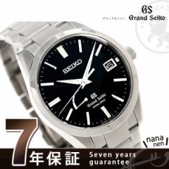 グランドセイコー 9Rスプリングドライブ 40.5mm メンズ SBGA149 GRAND SEIKO 腕時計 ブラック