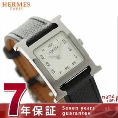 【今ならショッパー プレゼント♪】エルメス Hウォッチ レディース 腕時計 036704WW00 HERMES ホワイト×ブラック 新品