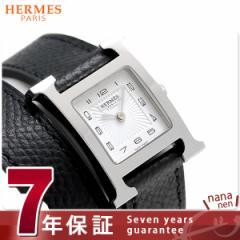 【あす着】【今ならショッパー プレゼント♪】エルメス H ウォッチ 21mm 二重巻き 腕時計 036716WW00 ホワイト×ブラック 新品