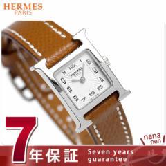 【あす着】【今ならショッパー プレゼント♪】エルメス Hウォッチ ミニ 17mm スイス製 レディース 037875WW00 HERMES 腕時計 新品