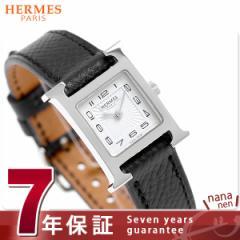 【あす着】【今ならショッパー プレゼント♪】エルメス H ウォッチ ミニ レディース 腕時計 037877WW00 ホワイト×ブラック 新品