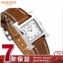 【あす着】【今ならショッパー プレゼント♪】エルメス Hウォッチ ミニ 17mm スイス製 レディース 037961WW00 HERMES 腕時計 新品