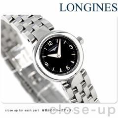 ロンジン ドルチェヴィータ 20mm レディース L5.174.4.56.6 LONGINES 腕時計 ブラック