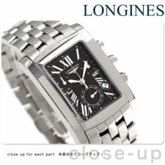 ロンジン ドルチェヴィータ 28mm メンズ L5.656.4.79.6 LONGINES 腕時計 ブラック