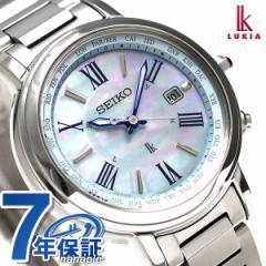 【ノート付き♪】【あす着】セイコー レディルキア ラッキーパスポート 電波ソーラー SSQV027 SEIKO LUKIA 腕時計