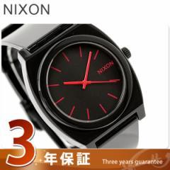【あす着】ニクソン nixon 腕時計 The Time Teller P A119 タイムテラーP Black/Bright Pink ブラック ブライトピンク