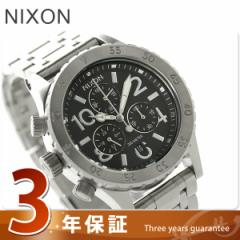 【あす着】ニクソン nixon 38-20 クロノグラフ クオーツ レディース 腕時計 A404000 NIXON A404 ブラック