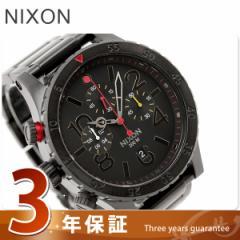 【あす着】ニクソン 腕時計 48-20クロノ A486 オールブラック/マルチ THE 48-20 CHRONO nixon A4861320