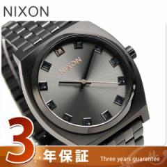 【あす着】ニクソン タイムテラー クオーツ 腕時計 A0452525 nixon ブラッククリスタル/ローズゴールド